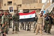 Quân đội Syria kiểm soát 90 thị trấn tại tỉnh Idlib từ tay khủng bố