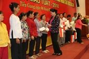Chủ tịch Quốc hội thăm, tặng quà và chúc Tết tại tỉnh Tiền Giang