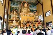 Việt kiều tại Lào tổ chức lễ cầu quốc thái dân an và hòa bình thế giới