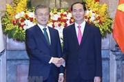 Hàn Quốc đưa tin đậm nét về chuyến thăm Việt Nam của ông Moon Jae-in