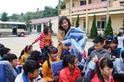 """Hành trình """"tiếp lửa"""" sưởi ấm học sinh trường bán trú Tả Ván Hà Giang"""