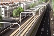 Đường sắt đô thị Yên Viên-Ngọc Hồi thiếu vốn giải phóng mặt bằng