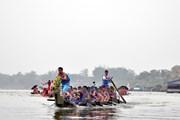 Có 27 đội tham gia Lễ hội bơi chải thuyền rồng Hà Nội mở rộng 2018