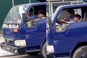 Công an xác minh, xử lý nghiêm vụ bé trai lái xe tải ở Thanh Hóa