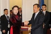 Hợp tác Quốc hội là nền tảng phát triển quan hệ Việt Nam-Trung Quốc