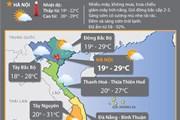 Các tỉnh miền Bắc chuyển hanh khô, Nam Bộ tiếp tục mưa dông
