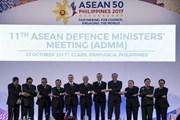 Đại tướng Ngô Xuân Lịch dự gặp không chính thức ADMM+1