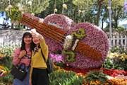 Lần đầu tiên tổ chức Tuần Văn hóa trà Lâm Đồng ở Festival Hoa Đà Lạt