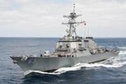 Tàu chiến Mỹ hư hỏng do va chạm với tàu kéo Nhật Bản khi diễn tập
