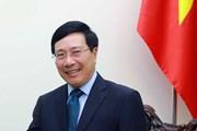 Phó Thủ tướng Phạm Bình Minh chuẩn bị thăm chính thức Hàn Quốc