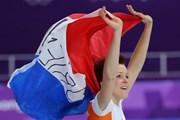 Lần đầu tiên một nữ vận động viên giành huy chương ở 2 môn thi đấu