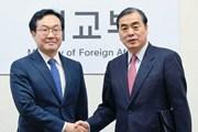 Các quan chức Hàn Quốc và Trung Quốc thảo luận về vấn đề Triều Tiên
