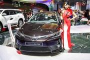 Toyota Việt Nam triệu hồi 16 xe Corolla Altis do lỗi giảm xóc sau