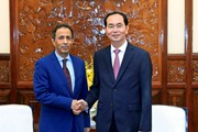 Chủ tịch nước tiếp Đại sứ Saudi Arabia chào kết thúc nhiệm kỳ