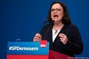 Đức: Bà Andrea Nahles làm nữ chủ tịch đầu tiên của đảng SPD