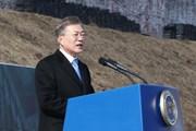 Tổng thống Hàn Quốc hoan nghênh Triều Tiên ngừng thử nghiệm vũ khí