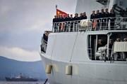 Binh sỹ Trung Quốc-Nga chuẩn bị tổ chức tập trận hải quân