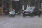 Bắc Bộ tiếp tục mưa dông, miền núi nguy cơ cao sạt lở và lũ quét