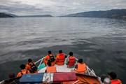 Indonesia: Thêm một vụ lật tàu trên hồ Toba, có người mất tích
