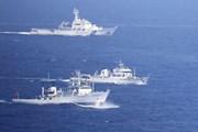 Tàu Trung Quốc lại vào vùng biển gần quần đảo tranh chấp với Nhật Bản