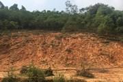 Mưa lớn gây sạt lở taluy và ách tắc một số tuyến đường ở Yên Bái