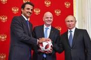 Nga long trọng trao quyền đăng cai World Cup 2022 cho Qatar