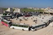 Syria: Di tản hàng nghìn người khỏi các thị trấn phiến quân chiếm đóng