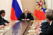 Tổng thống Nga họp với Hội đồng An ninh về lệnh trừng phạt của Mỹ
