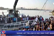 [Video] Tàu chở học sinh chìm trên sông Nile, 23 người thiệt mạng