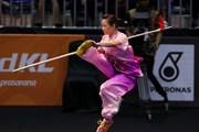 """ASIAD 2018: """"Niềm hy vọng vàng"""" môn Wushu Dương Thúy Vi xuất trận"""