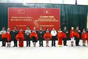 Khánh thành Nhà văn hóa hữu nghị biên giới Việt-Trung tại Lai Châu