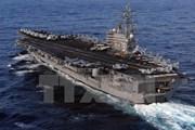 Tàu sân bay Mỹ tuần tra ở ngoài khơi bán đảo Triều Tiên