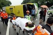 Tai nạn giao thông tại Malaysia khiến 40 người thương vong