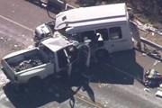 Bulgaria: Xe buýt đâm trực diện xe tải, 9 người đã thiệt mạng