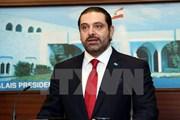 Thủ tướng Liban Saad al-Hariri chuẩn bị rời Saudi Arabia