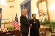 Mỹ muốn tăng cường quan hệ quốc phòng với Indonesia