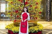 Sao Việt xúng xính áo dài trong dịp Tết Nguyên Đán 2018