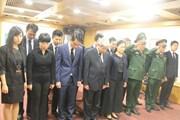 Lễ viếng, tưởng niệm nguyên Thủ tướng Phan Văn Khải tại Israel