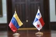 Venezuela và Panama đạt thỏa thuận về việc cử lại đại sứ