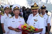 Ba tàu hải quân Ấn Độ cập cảng Tiên Sa, thăm thành phố Đà Nẵng