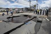 Nhật Bản: Động đất gây gián đoạn nguồn cung khí đốt ở Osaka