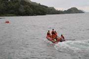 Indonesia đã xác định được vị trí tàu chìm trên hồ Toba