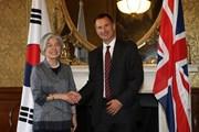 Hàn Quốc, Anh thảo luận về các vấn đề Triều Tiên và Brexit