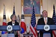Ngoại trưởng Hàn, Mỹ điện đàm thảo luận về tình hình Triều Tiên