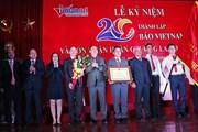 Báo điện tử VietNamNet nhận Huân chương Lao động hạng Nhì
