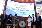 40 triệu cổ phiếu của FPT Retail chính thức chào sàn HoSE