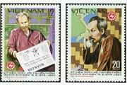 [Mega Story] 'Kể chuyện' Bác Hồ qua những con tem bưu chính