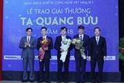 Ba nhà khoa học xuất sắc giành giải thưởng Tạ Quang Bửu