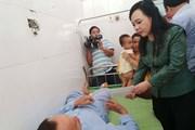Điều trị miễn phí cho các nạn nhân vụ lật 6 toa tàu ở Thanh Hóa