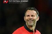 Ryan Giggs làm Giám đốc bóng đá Trung tâm Đào tạo bóng đá trẻ Vingroup